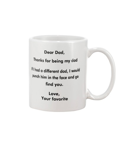 Dear Dad - Thanks For Being My Dad