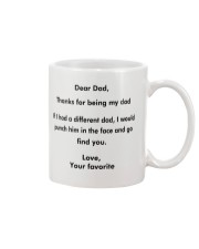 Dear Dad - Thanks For Being My Dad Mug front