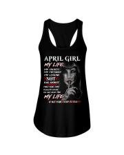 For April Girl- Take it now Ladies Flowy Tank thumbnail