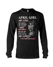 For April Girl- Take it now Long Sleeve Tee thumbnail