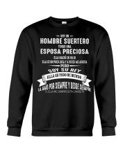 Soy la afortunada - D07 Julio Husband Crewneck Sweatshirt thumbnail