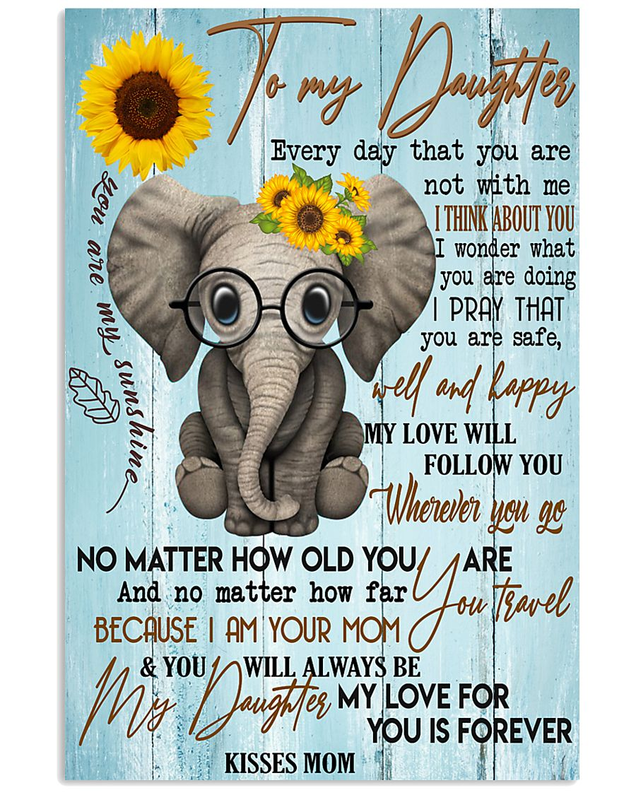 Special gift for daughter - C 129 11x17 Poster