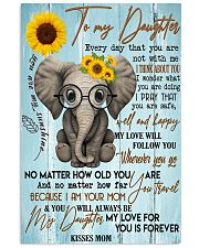 Special gift for daughter - C 129 11x17 Poster front