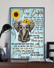 Special gift for daughter - C 129 11x17 Poster lifestyle-poster-2