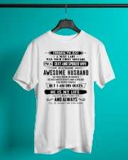 I have a sexy and sexy wife  3 Classic T-Shirt lifestyle-mens-crewneck-front-3