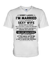Perfect gift for husband AH02 V-Neck T-Shirt thumbnail