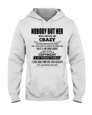 Perfect gift loved one- Nobody but you- September Hooded Sweatshirt thumbnail
