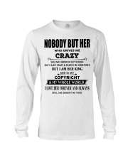 Perfect gift loved one- Nobody but you- September Long Sleeve Tee thumbnail