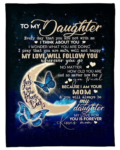 Meaningful gift for your daughter- blanket