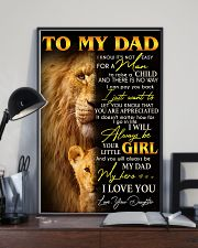 My wonderful Dad- Special gift for Father - A00 11x17 Poster lifestyle-poster-2