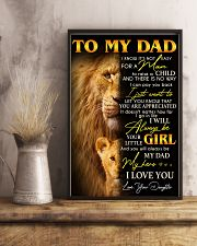 My wonderful Dad- Special gift for Father - A00 11x17 Poster lifestyle-poster-3
