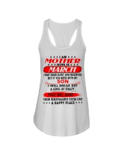I AM LUCKY MOTHER - SON - CTUS03 G Ladies Flowy Tank thumbnail