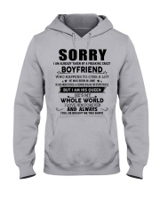 The perfect gift for your girlfriend - D6 Hooded Sweatshirt front