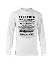 Perfect gift for husband TON01 Long Sleeve Tee thumbnail