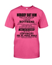 The perfect gift for your girl-nobody but you-A03 Classic T-Shirt thumbnail