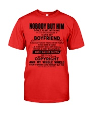 The perfect gift for your girl-nobody but you-A03 Premium Fit Mens Tee thumbnail