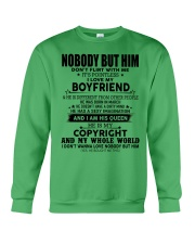 The perfect gift for your girl-nobody but you-A03 Crewneck Sweatshirt thumbnail