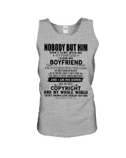 The perfect gift for your girl-nobody but you-A03 Unisex Tank thumbnail