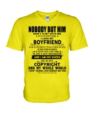 The perfect gift for your girl-nobody but you-A03 V-Neck T-Shirt thumbnail