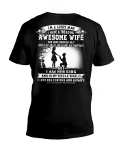 Gift for Husband - T07 July Wife V-Neck T-Shirt thumbnail