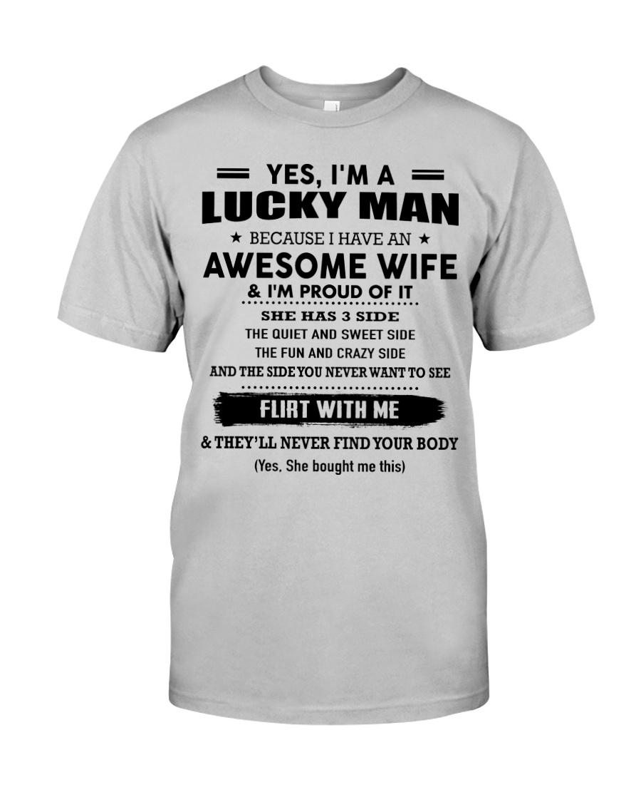 I'm a Lucky Man- 3 Side- Kun 00 Classic T-Shirt