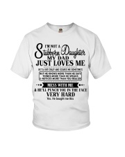 Special gift for Daughter - Father to Daughter 00 Youth T-Shirt thumbnail
