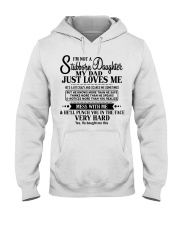 Special gift for Daughter - Father to Daughter 00 Hooded Sweatshirt thumbnail