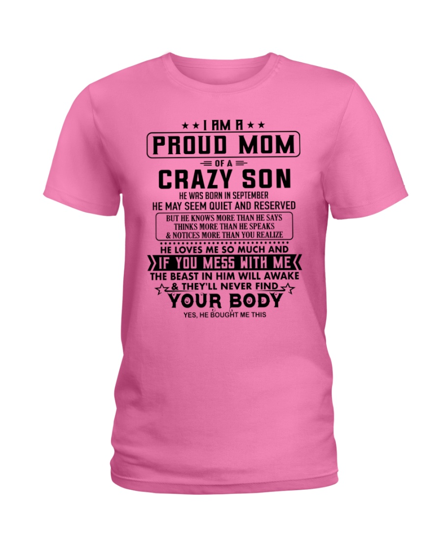 Perfect Gift for mom S9 Ladies T-Shirt