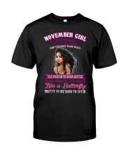 Queen Are Born November  - Woman T11 Classic T-Shirt thumbnail