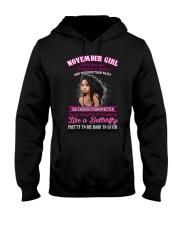 Queen Are Born November  - Woman T11 Hooded Sweatshirt thumbnail
