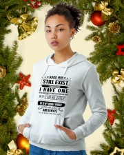 Perfect gift for your loved one - nok00 Hooded Sweatshirt lifestyle-holiday-hoodie-front-4