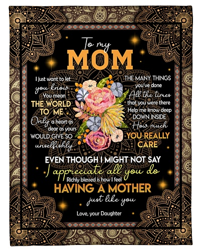 To my mom T5-4