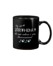 My 50th birthday the one where i was quarantine Mug thumbnail