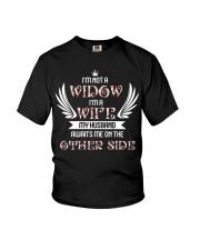 I am not a widow Youth T-Shirt thumbnail