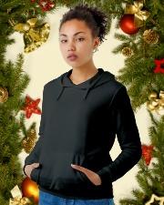 Soy la afortunada - T05 Mayo Wife Store Sau Hooded Sweatshirt lifestyle-holiday-hoodie-front-4