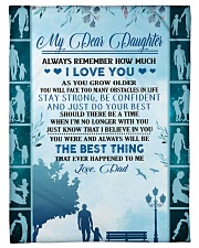 """My dear daughter remember how much i love you Small Fleece Blanket - 30"""" x 40"""" front"""