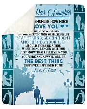 """My dear daughter remember how much i love you Sherpa Fleece Blanket - 50"""" x 60"""" thumbnail"""