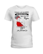 JUNIO 27 Ladies T-Shirt front