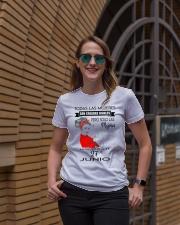 JUNIO 27 Ladies T-Shirt lifestyle-women-crewneck-front-2