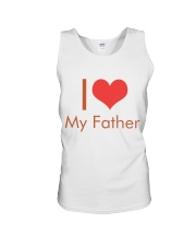 I Love My Father Unisex Tank thumbnail