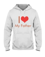I Love My Father Hooded Sweatshirt thumbnail