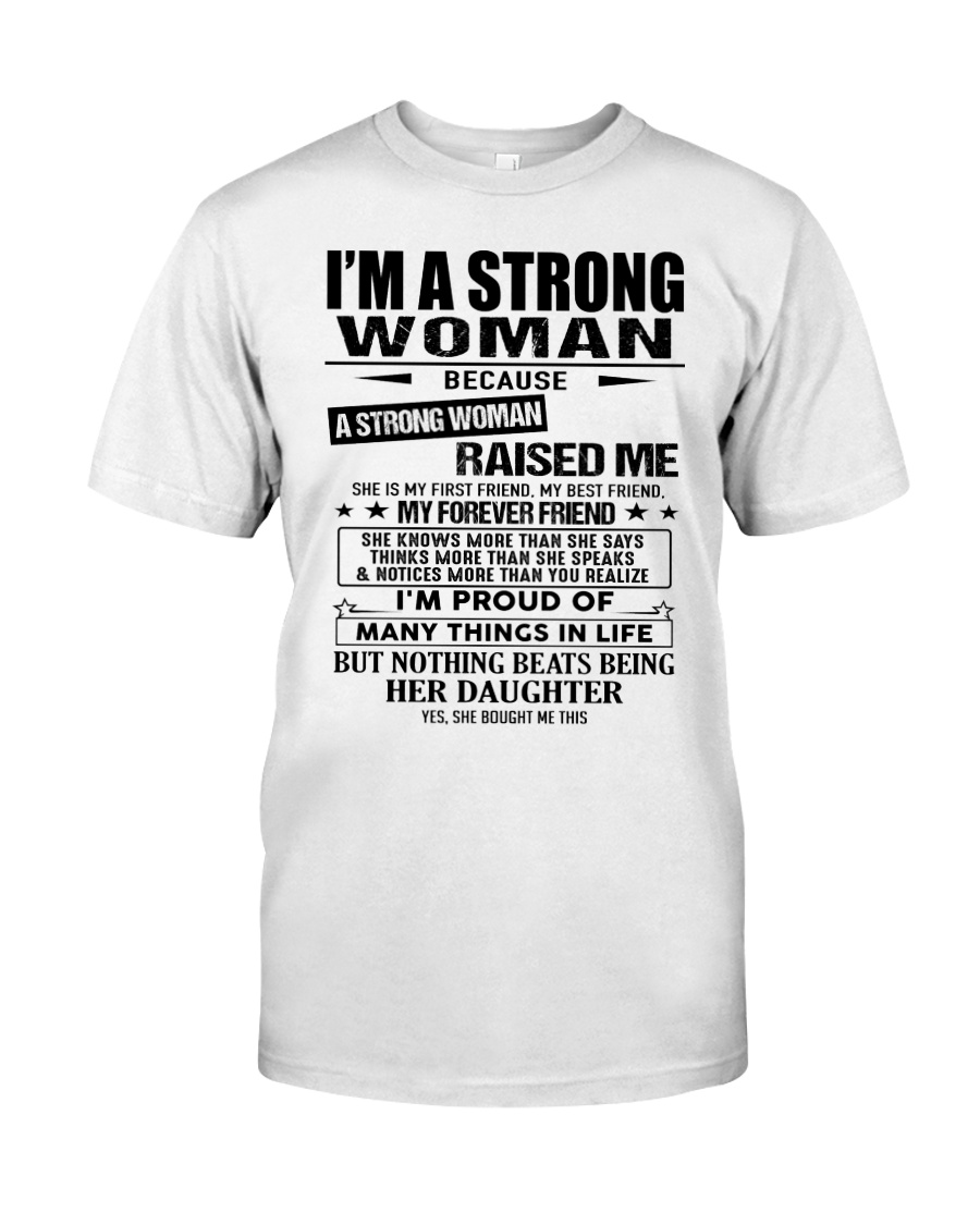 Strong woman - T0 Classic T-Shirt
