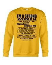 Strong woman - T0 Crewneck Sweatshirt thumbnail