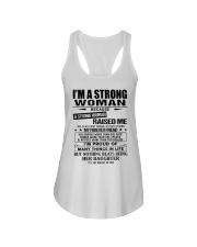 Strong woman - T0 Ladies Flowy Tank thumbnail