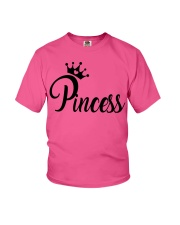 Perfect Tshirt Family - X Us Princess Youth T-Shirt front