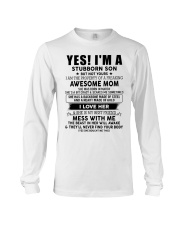 Special gift for Son AH03 Long Sleeve Tee thumbnail
