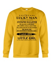 Gift for Father - I AM LUCKY DAD - CTUS11 Crewneck Sweatshirt thumbnail