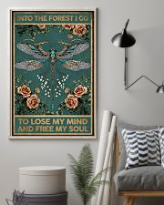Into the forest i go - A 11x17 Poster lifestyle-poster-1