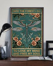 Into the forest i go - A 11x17 Poster lifestyle-poster-2