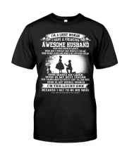 Lucky Woman - T03 Husband Classic T-Shirt thumbnail